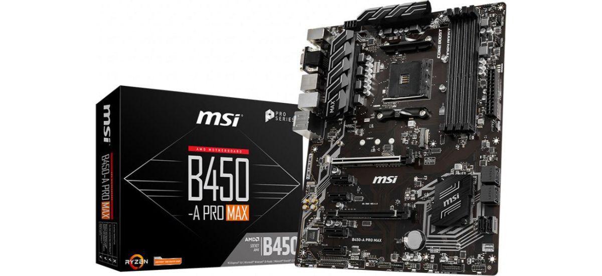 MSI B450 A-PRO MAX