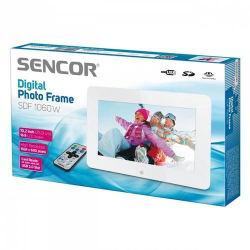 SENCOR SDF 1060 W Cyfrowa ramka fotograficzna