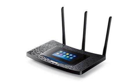 TP-LINK Touch P5 - Takiego Routera Nie Widziałeś!