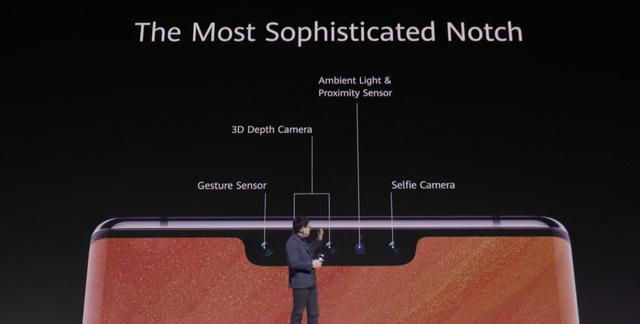 Notch w Huawei'u pełni kilka funkcji