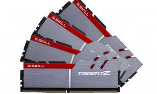 G.Skill Trident Z DDR4, 4x16GB, 3300MHz, CL16 (F4-3300C16Q-64GTZ)