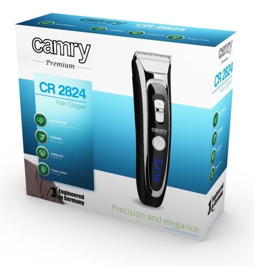 akumulatorowo-sieciowa maszynka do włosów Camry