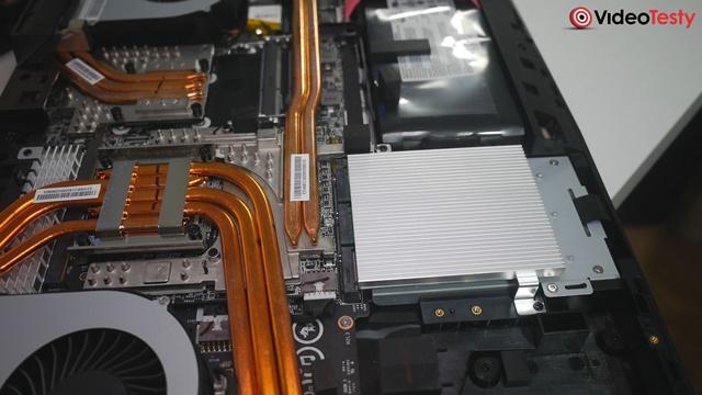 MSI GT75VR Podzespoły
