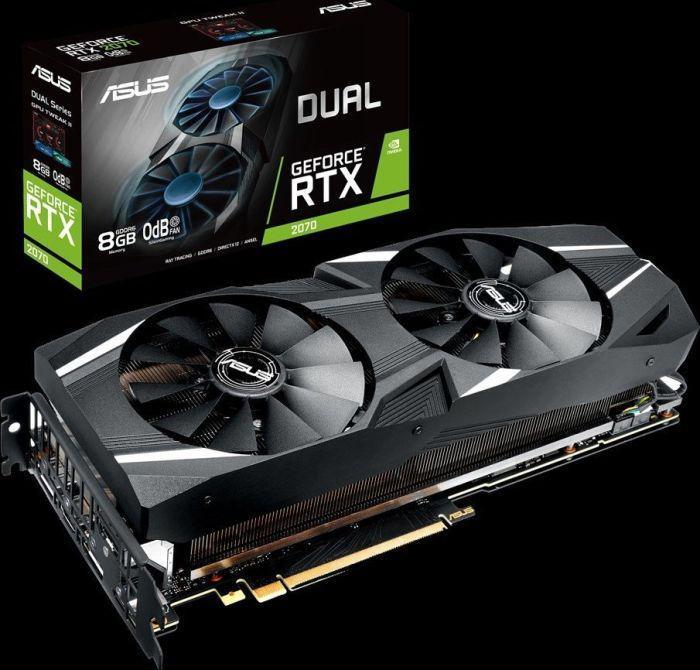 Asus GeForce RTX 2070 DUAL 8 GB (90YV0C84-M0NA00)