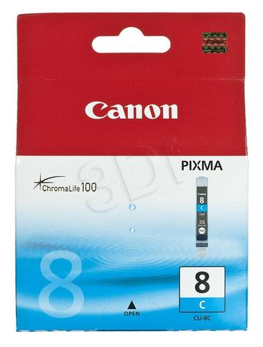 CANON Tusz Niebieski CLI-8C=CLI8C=0621B001, 420 str.