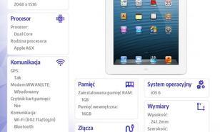 Apple iPad z wyświetlaczem Retina Wi-Fi + Cellular 16GB Biały MD525