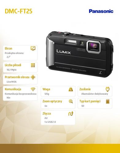 Panasonic DMC-FT25 black