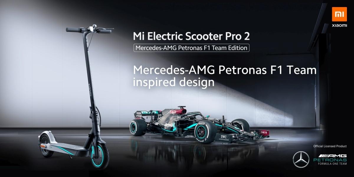 Xiaomi Mi Electric Scooter Pro 2 w wersji Mercedes-AMG Petronas to drogi sprzęt