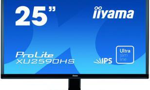 IIYAMA 25'' XU2590HS ULTRASLIM IPS DVI/HDMI/GŁOŚNIKI