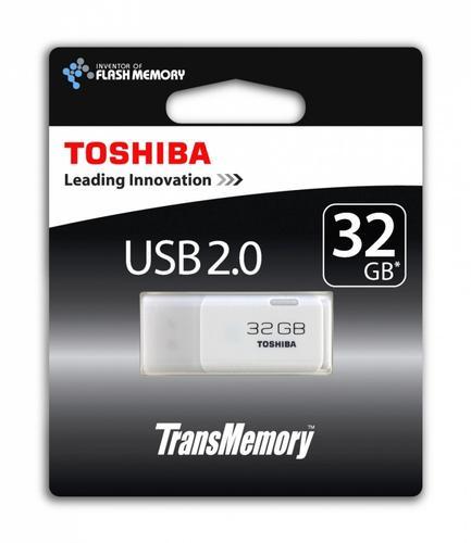 Toshiba 32GB HAYABUSA USB 2.0 WHITE