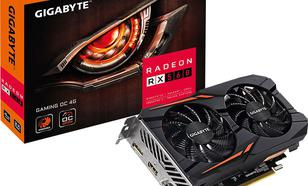 Gigabyte RX 560 OC GAMING, 4GB GDDR5 (128 Bit), DVI-D, HDMI, DP, BOX (GV-RX560GAMING OC-4GD)