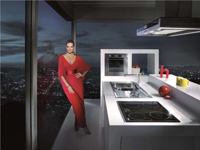 Eleganckie przyjęcie w kuchni