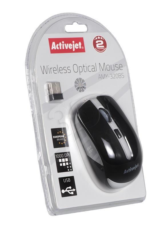 Activejet mysz USB AMY-320BS