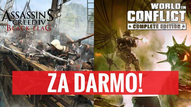 World in Conflict i Assasin's Creed 4: Black Flag za Darmo na Uplay!