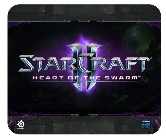 Nowa podkładka pod mysz dla graczy SteelSeries StarCraft II: Heart of the Swarm już dostępna!