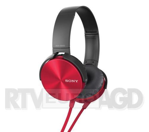 Sony MDR-XB450AP (czerwony)