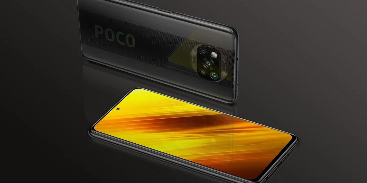 POCO X3 NFC w kolorze czarnym