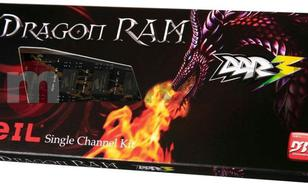 GeIL Black Dragon Series DDR3-1600, CL11 - 4GB GD34GB1600C11SC
