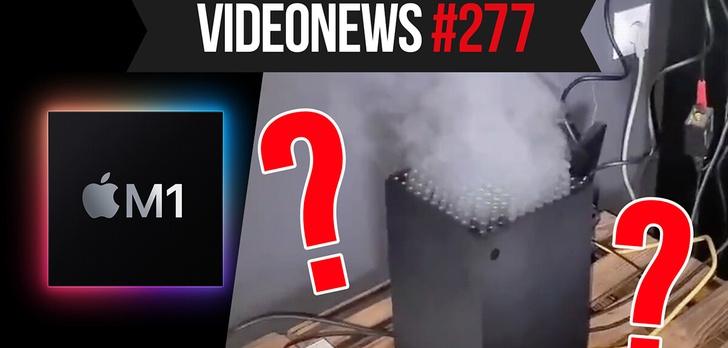 Xbox Series X w dymie, nowy chip Apple, Hyperloop działa - VideoNews #277