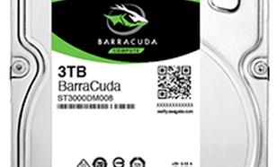 Seagate BarraCuda 3TB, SATA/600 (ST3000DM008)