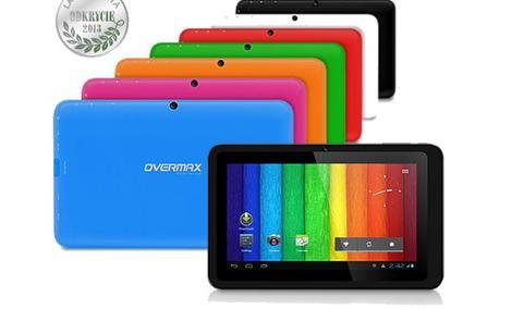 Tablet NewBase firmy Overmax w kolorach tęczy !