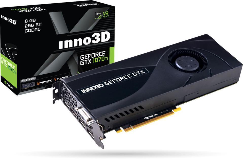 Inno3D GeForce GTX 1070 Ti Jet-Fan 8GB GDDR5 256 bit DVI-D, HDMI,