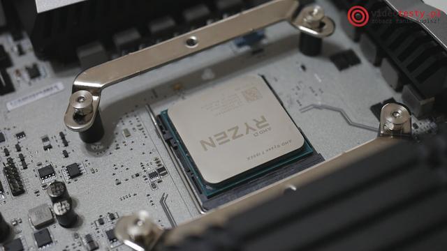 Serce całego zestawu - procesor Ryzen 7 1800X
