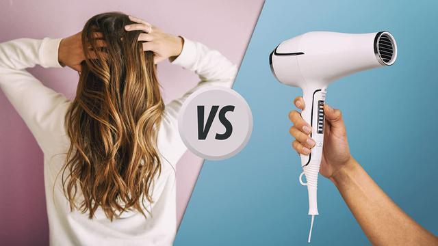 Suszenie suszarką vs naturalne wysychanie włosów - Co lepsze?