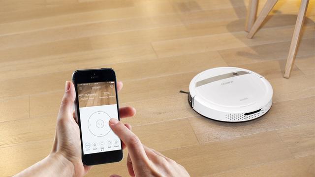 robot sprzątający - sterowanie przez aplikację
