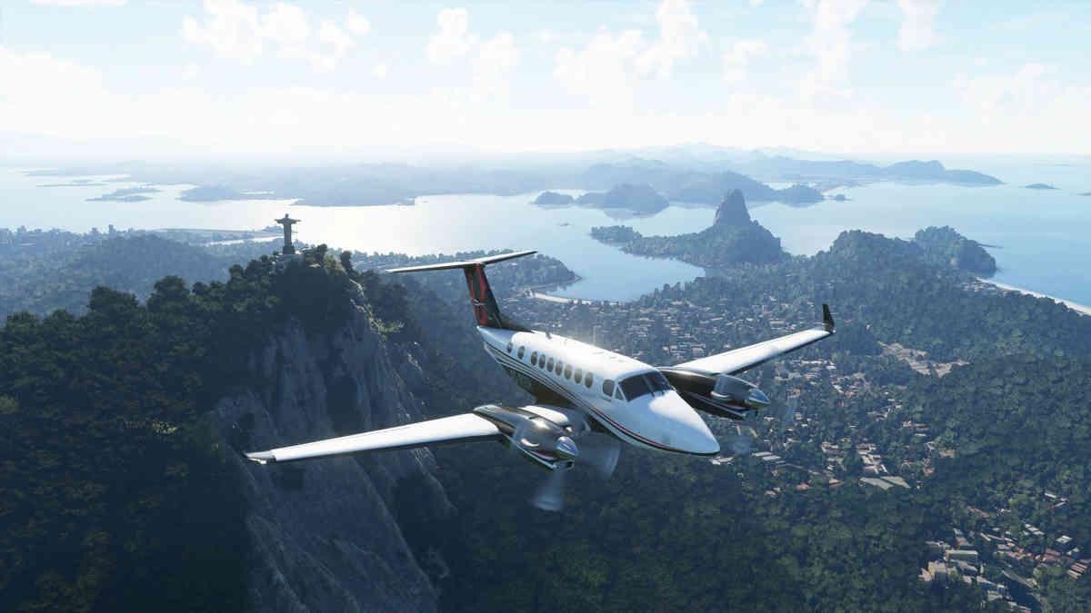 Microsoft Flight Simulator - Samloty robią wrażenie