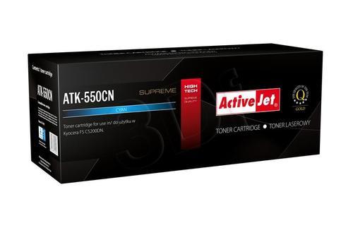 ActiveJet ATK-550CN toner Cyan do drukarki Kyocera (zamiennik Kyocera TK-550C) Supreme