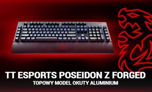 Tt eSports Poseidon Z Forged - Topowy Model Okuty Aluminium
