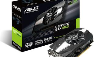 Asus Geforce GTX 1060 3GB GDDR5 (192 Bit), DVI-D, 2xDP, 2xHDMI, BOX (