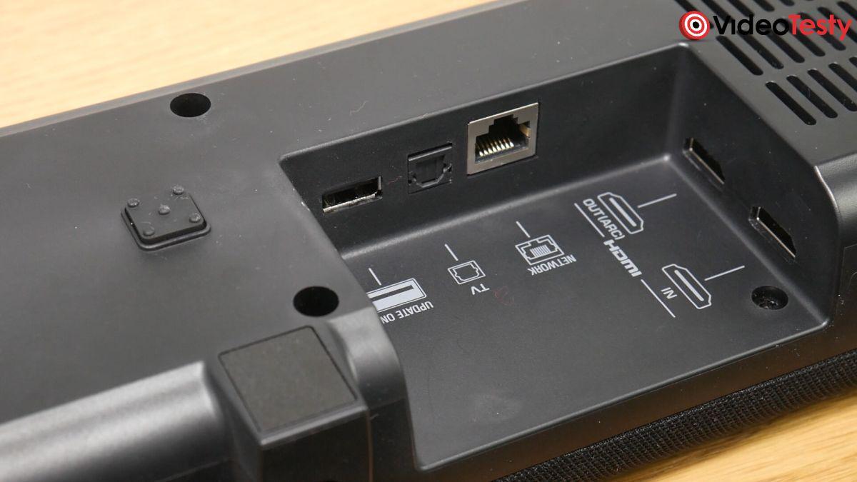 Yamaha YAS-209 dostępne złącza
