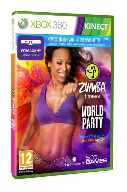 Nowość w planie wydawniczym Techlandu - Zumba World Party