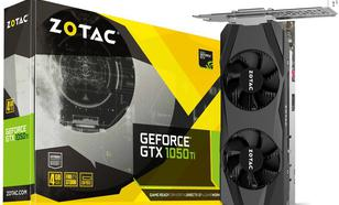 Zotac GeForce GTX 1050 Ti Low Profile 4GB GDDR5 (128 bit), HDMI, DP, DVI-D, BOX (ZT-P10510E-10L)