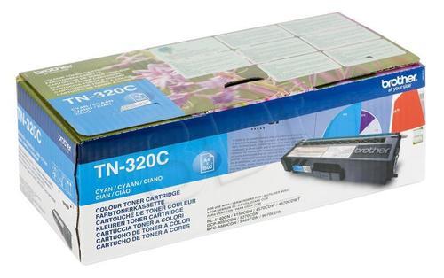 BROTHER Toner Niebieski TN320C=TN-320C, 1500 str.