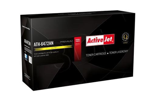 ActiveJet ATH-6472AN żółty toner do drukarki laserowej HP (zamiennik 502A Q6472A) Premium