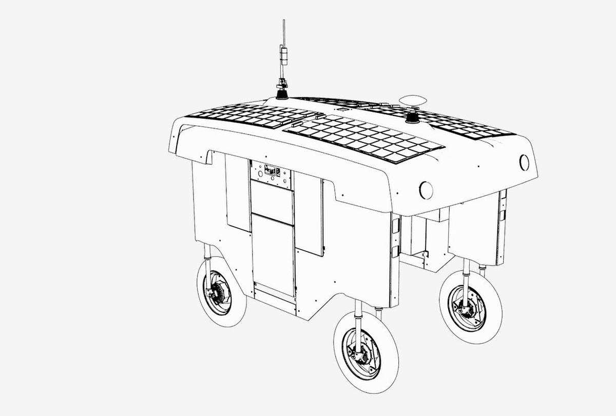 Konstrukcja rolniczego robota Mineral pozwala na dopasowanie go do różnych warunków