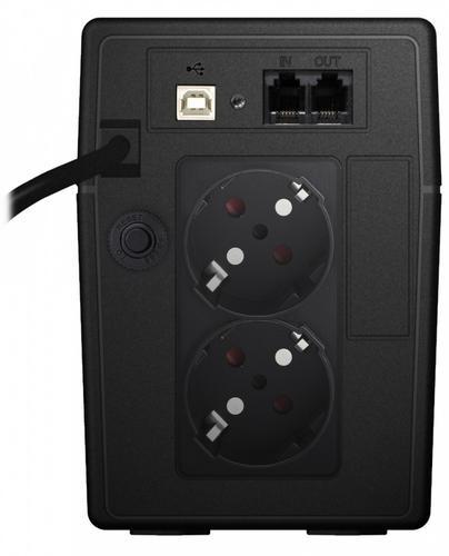 Lestar UPS SIN-830ES SINUS LCD 2xSCH USB RJ11 BL