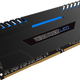 Corsair Vengeance LED DDR4, 4x8GB, 3000MHz, CL16, blue (CMU32GX4M4D3000C16B)