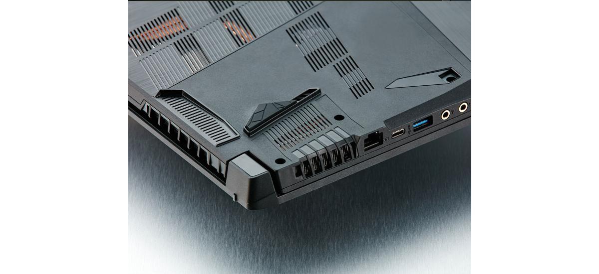 MSI GF75 Thin 9RCX-420PL - system chłodzenia