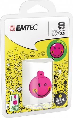 EMTEC Pendrive 8GB Smilley World Wink Girl SW107