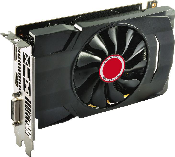 XFX Radeon RX 550 Single Fan 2GB GDDR5 (128 bit), DVI-D, HDMI,