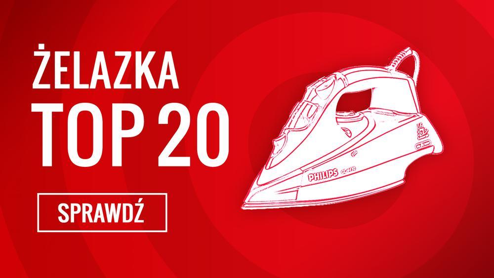 Ranking TOP 20 Żelazek - Czym Najlepiej Prasować Swoje Ubrania?
