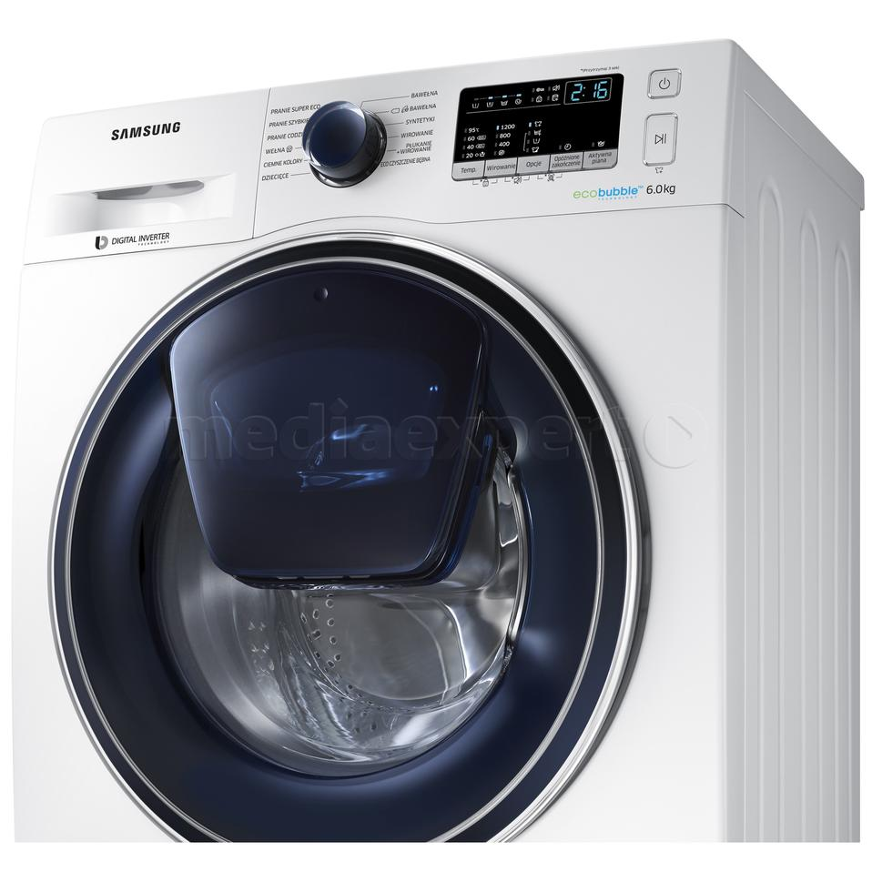 SAMSUNG WW60K52109W Add Wash