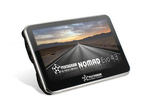 PENTAGRAM Nomad EVO 4.3+Navigo9i Polska z turystyką