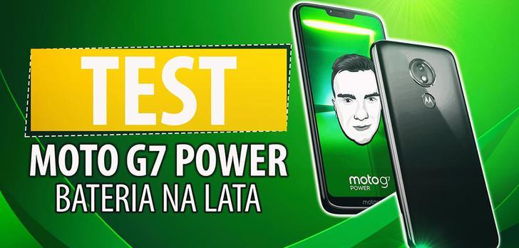 Test Motoroli Moto G7 Power - Potężna bateria poniżej 1000 zł