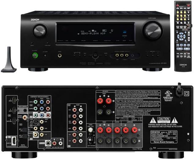 DENON AVR-1610 - amplituner z systemem 5.1