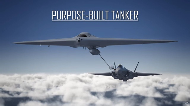 Amerykański dron-cysterna
